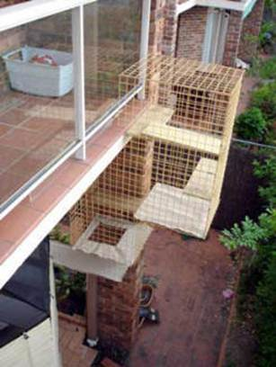 Description: Cat Enclosure balcony